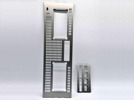 Silver Anodizing Aluminum Front Plate - Customized Front Panel