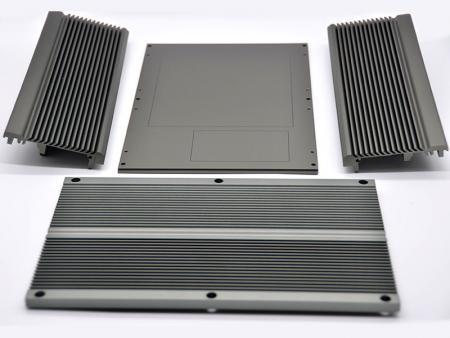 Chasis integrado ensamblado gris - Chasis del sistema integrado