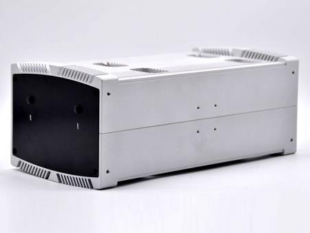 Gümüş birleştirilmiş gömülü kasa - Fansız PC Kasası