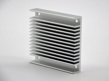 CNC加工陽極本色散熱片 - 陽極本色散熱片