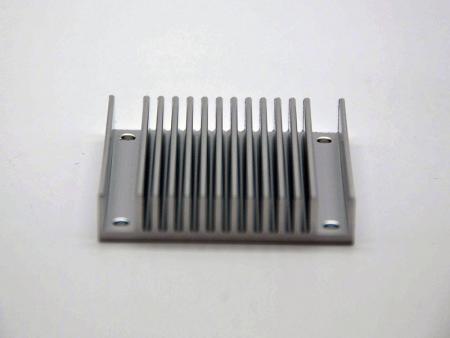 CNC機械加工銀陽極酸化ヒートシンク