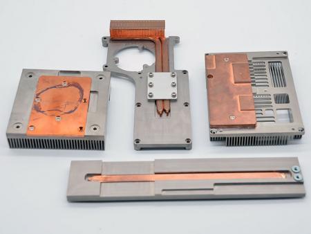 알루미늄 압출 열 모듈 - 맞춤형 열 모듈