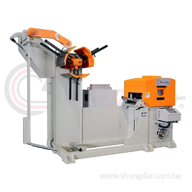 Shung Dar - NC Servo Feeder, Straightener & Uncoiler (3in1) SNR1