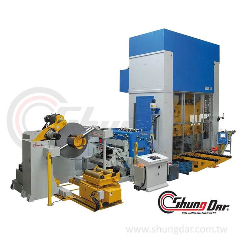 Shung Dar Coil Feeding Line, Metal Processing Equipment, Press Feed Line