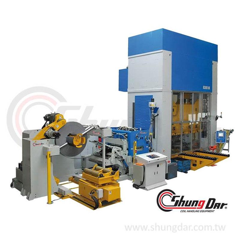 Shung Darコイル供給ライン、金属加工装置、プレス供給ライン