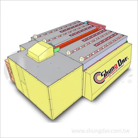 Тележка для автоматической быстрой смены пресс-форм - тележка с одной станцией - Shung Dar - Тележка для автоматической быстрой смены пресс-форм - Тележка с одной станцией CAR1