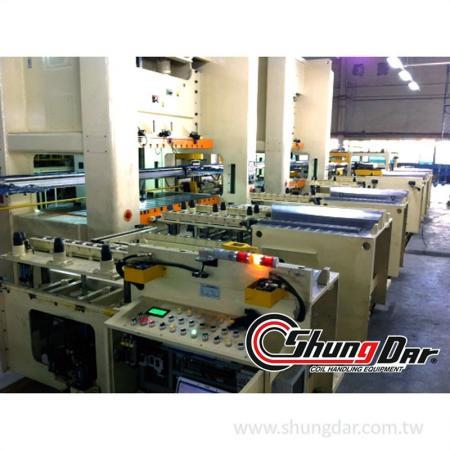 Prodution at customer's factory