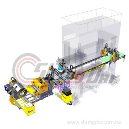 Press Transfer Robot System