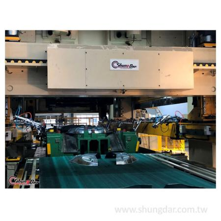 自動処理転送システム-工場でのテスト