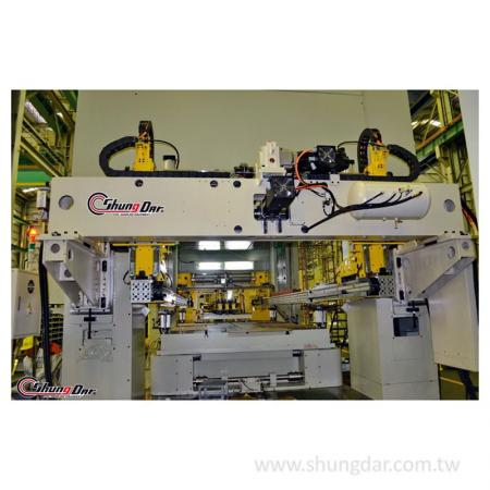 Автоматическая система передачи обработки - тестирование на заводе