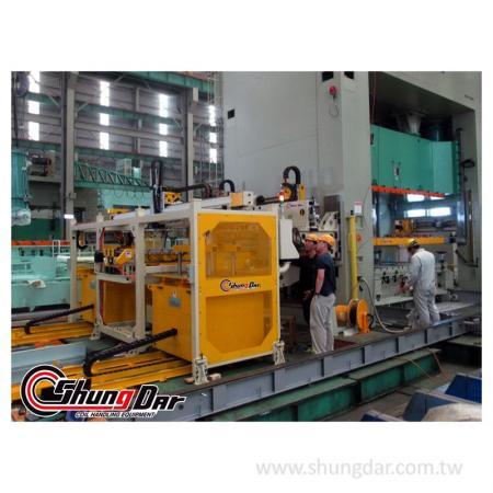 自動処理転送システム-工場で実行