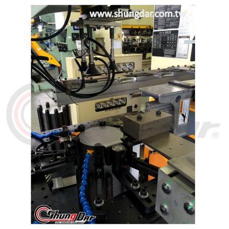 Автоматическая система передачи обработки - работает на заводе