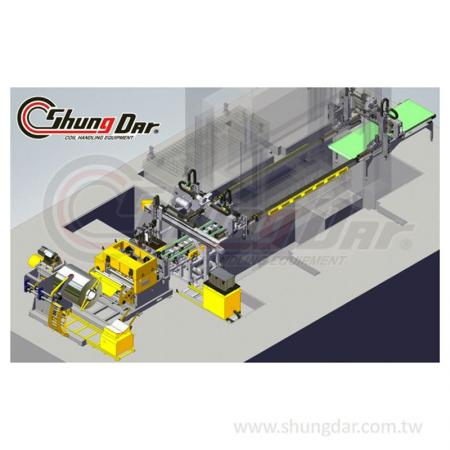 自動転送システム-工場で稼働