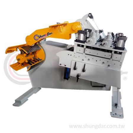 2 in 1 Uncoiler & Straightener (0.4 - 4.5mm) - Shung Dar - 2 in 1 Uncoiler & Straightener LUD