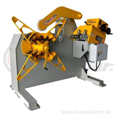 2 in 1 Uncoiler & Straightener (0.3 - 3.2mm) - Shung Dar - 2 in 1 Uncoiler & Straightener LUH