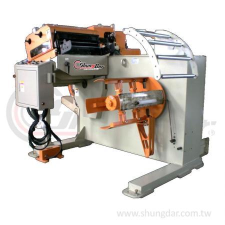 2 in 1 Light Uncoiler & Precision Straightener (0.3 - 1.0mm) - Shung Dar - 2 in 1 Uncoiler & Straightener LUO