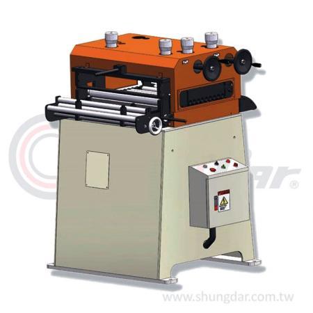 Выпрямитель для рулонов / материалов (0,3 - 1,0 мм) - Шунг Дар - Выпрямитель рулонов / заготовок - LVO