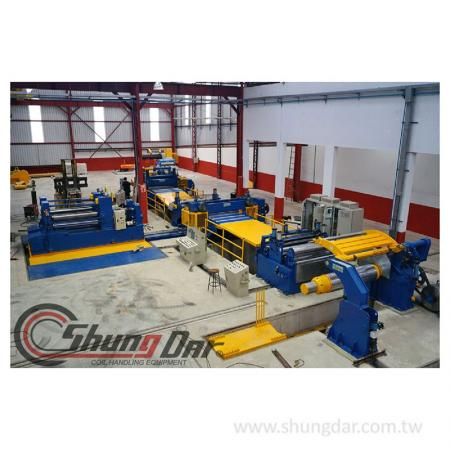 Steel Slitting Line na may double slitting machine