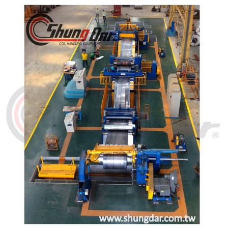 Steel Slitting Line production line