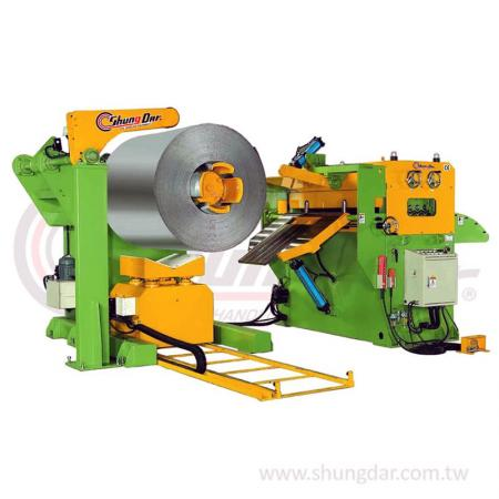 2 in 1 Uncoiler & Straightener - Shung Dar - 2 in 1 Uncoiler & Straightener