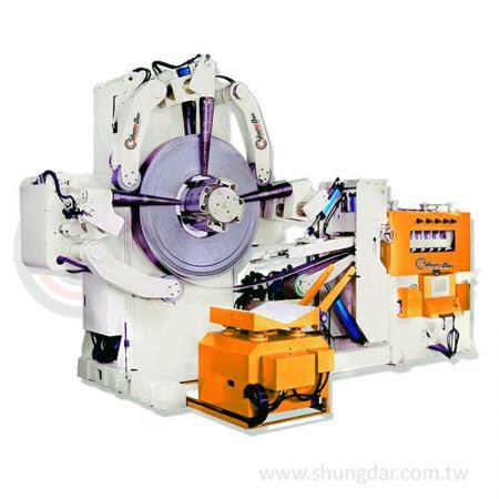 2 in 1 Heavy Duty Uncoiler & Straightener (2.0 - 12.0mm) - Shung Dar - 2 in 1 Uncoiler & Straightener SJL