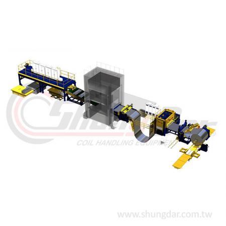 กด Blanking Line / Magnetic Stacking System - Shung Dar - กด Blanking Line