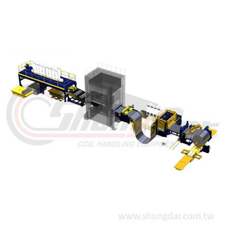 Press Blanking Line / Magnetic Stacking System - Shung Dar - Press Blanking Line