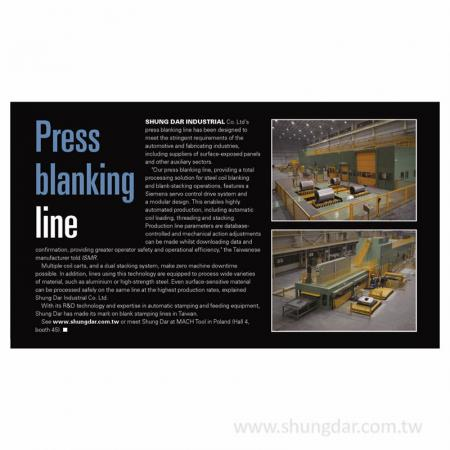 Magazyn Press Blanking Line