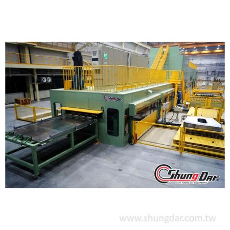 Press Blanking Line in factory