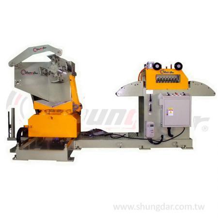 2 in 1 Uncoiler & Straightener (0.3 - 3.2mm) - Shung Dar - 2 in 1 Uncoiler & Straightener SLF