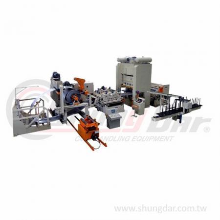 Zig Zag Feeding Line / ระบบวางซ้อน - Shung Dar - Zig Zag Feeding Line / Stacking System