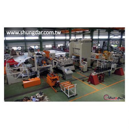Zig Zag Feeding Line - production line