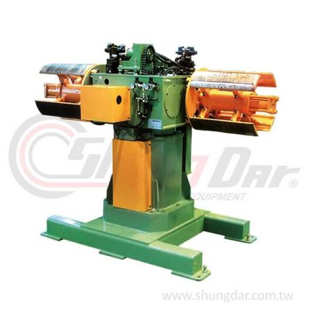 Double Head Uncoiler (1 / 3 / 5 tons) - Shung Dar - Steel Coil Single Head Uncoiler - UAD/UBD/UCD