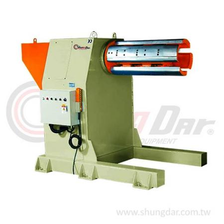 Heavy Duty Single Head Uncoiler (7 / 10 tons) - Shung Dar - Steel Coil Single Head Uncoiler - UG/UH