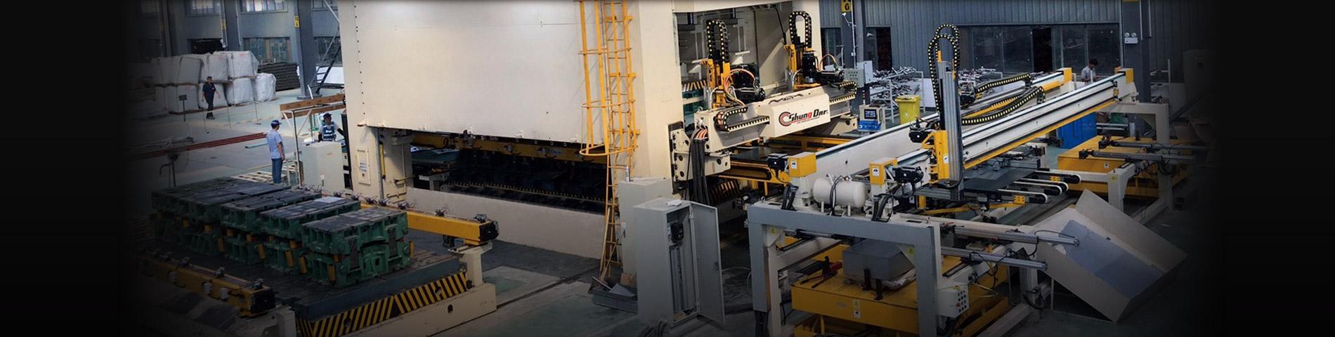 Press Transfer Robot System Press