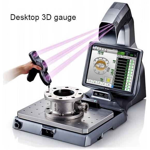 Desktop 3D Gauge