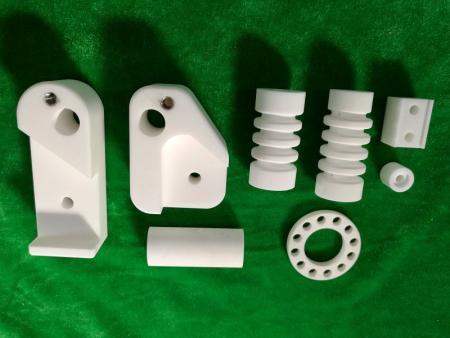 Application of machinable ceramics
