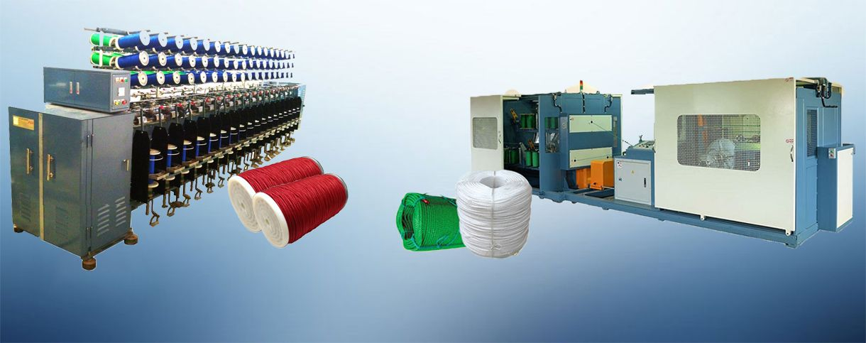 PP / PE Monofilament Rope Machinery