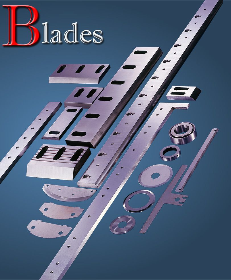 Different types of cutter blades