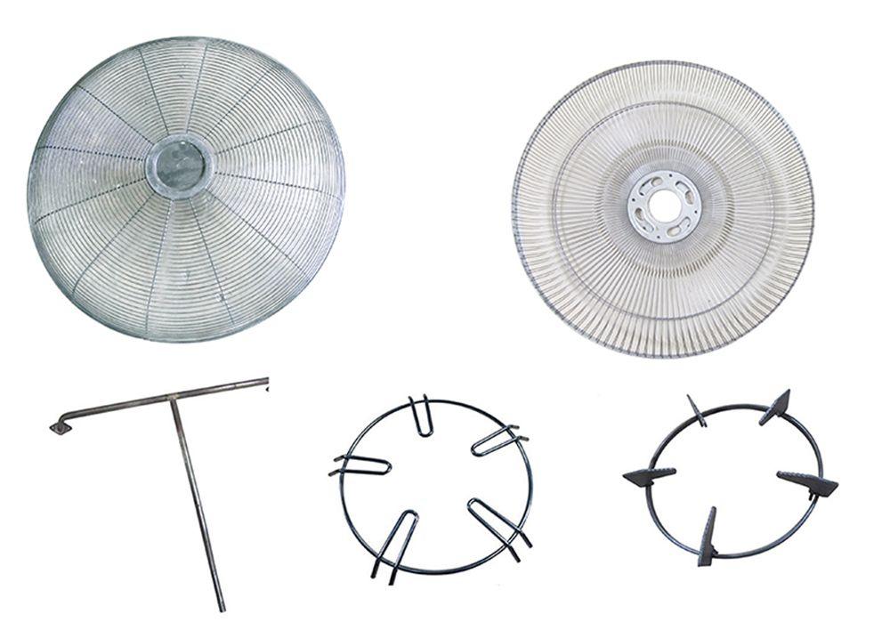 Ligne de production complète de protection de ventilateur et soudeuse par points personnalisée