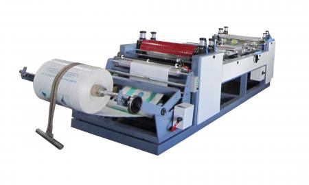 Automatic Bag Cutting & Sewing Machine (Gusseting Type) - Auto Bag Cutting & Sewing Machine (Gusseting Type)
