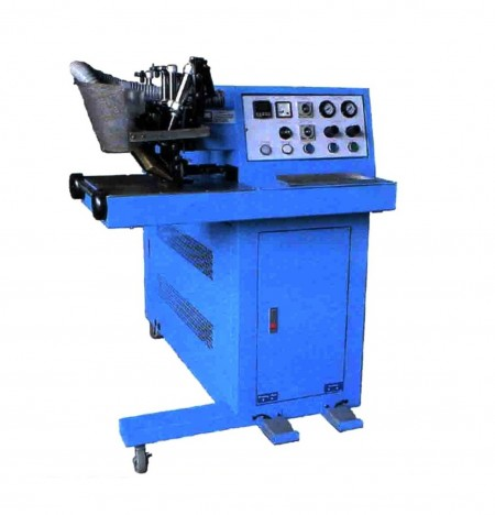 Hemming and Welding Machine - Hemming and Welding Machine is to fold back and weld the edge of cloth with rope.