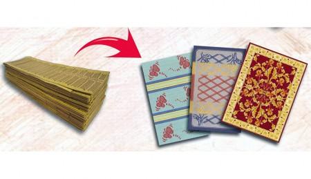 पीपी मैट डिजाइन कार्ड