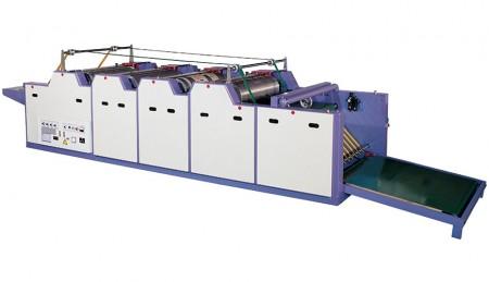 फ्लेक्सोग्राफिक प्रिंटिंग मशीन (मैनुअल फीडिंग टाइप)