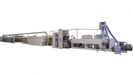 آلة صنع الخيوط المسطحة عالية السرعة PP - آلة صنع الخيوط المسطحة عالية السرعة PP