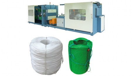 Integrated Rope Making Machine - Integrated Rope Making Machine, TK-2 (4 Twines)