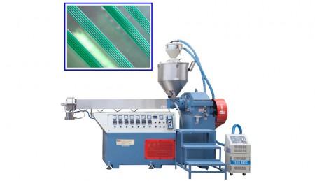 पीई / पीपी मोनोफिलामेंट बनाने की मशीन - पीई / पीपी मोनोफिलामेंट मेकिंग मशीन मोड, टीके -75, बॉबिन एस 177