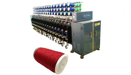 घुमा मशीन (दूसरा घुमा) - ट्विस्टिंग मशीन (TK-161, 36 स्पिंडल)