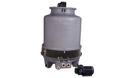 """वाटर कूलिंग टॉवर और पंप - वाटर कूलिंग टॉवर और पंप, मॉडल: LBC-50RT (50 टन) + 5HP-3"""" (2 सेट)"""