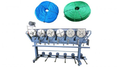 Winding Machine - TK-1A (6 Spindles, without Digital Counter)